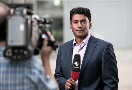Ian Hanomansing on CBC News Now