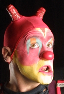 See the award-winning Canadian clown duo for a frightening experience
