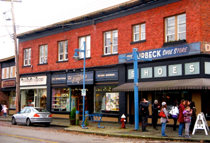 A Winter Stroll Though Storybrooke, Maine (Steveston, BC)
