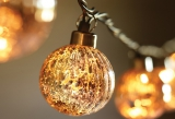 Pottery Barn's Mercury globe string lights
