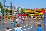 Granville Island's Water Park is a perfect spot for some carefree family fun