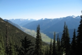 The Pemberton Valley lies nestled between mountains