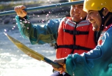 Brave the white rapids on a rafting adventure along the Chilliwack River