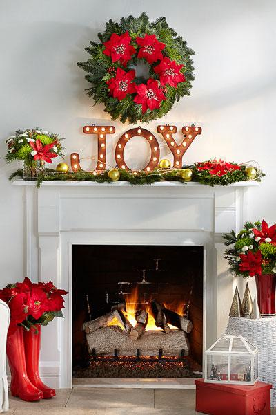 chic ways to decorate your mantel for christmas bcliving