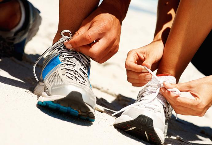 Stop putting off exercise and lace up those trainers!