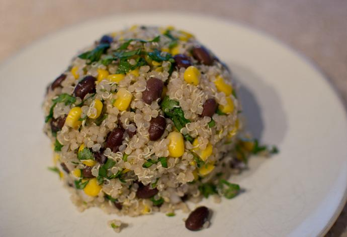 ... incredibly delicious, and high in protein thanks to the hearty quinoa