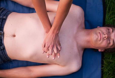 Focus your attention on the chest compressions when administering CPR