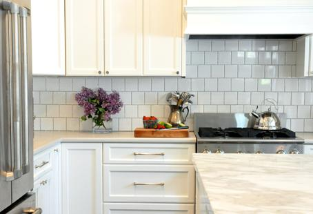 Choose one element to splurge on: The countertop or the backsplash