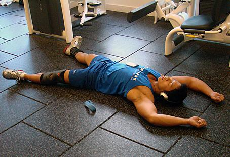 You'll get fitter by resting when you need to during your workouts