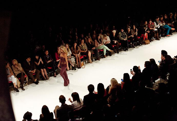 Designer Nikki Babie showcases her timeless pieces at Vancouver Fashion Week