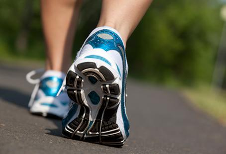 Over time, rigorous walking can provide the same health benefits as running