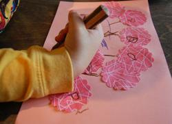How to make stickers - kid-friendly DIY project