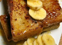 Day old bread recipe: French Toast
