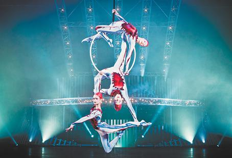 Catch Canada's Cirque du Soleil at Abbotsford Entertainment & Sports Centre
