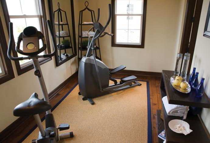 Create your very own workout space with a home gym