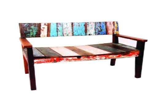 Boat wood furniture from the beaches of indonesia Uni home furniture indonesia