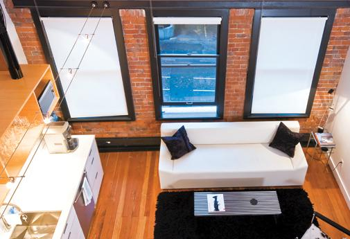 BC Living - Loft living: David Wylie mixes it up in his modern Vancouver Condo