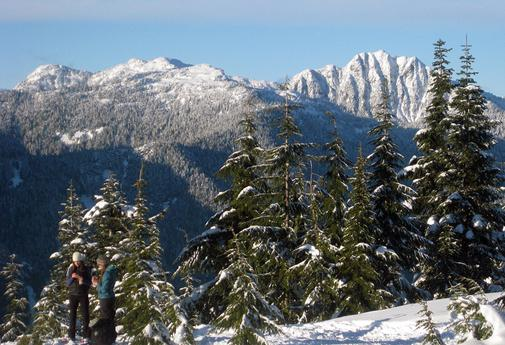 BC Living - Spectacular view from the top of Dog Mountain at Mount Seymour