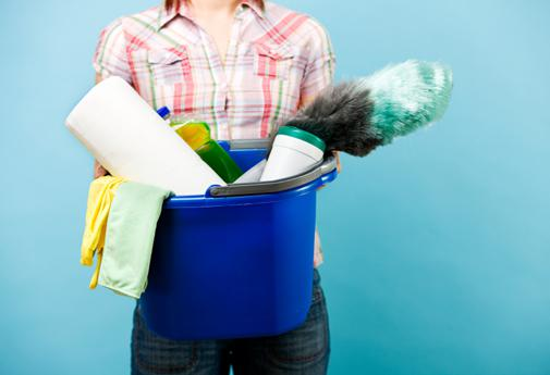 Arm yourself with a few spring cleaning helpers to make the task a little easier