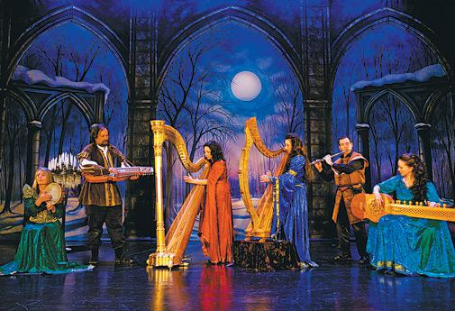 Winter Harp features carols and Celtic music on 12th-century instruments