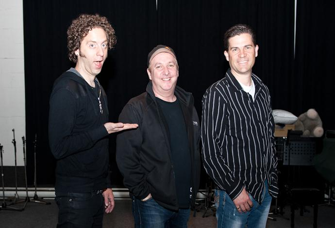 Joe Leary hangs with Ian Casselman and David Hilder