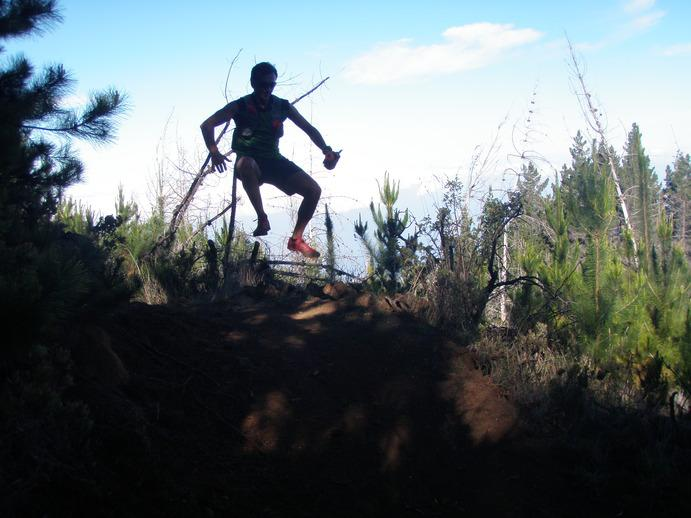 Trail running is one of many outdoor activities to enjoy in BC