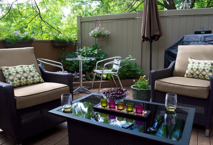 All-season patio furniture