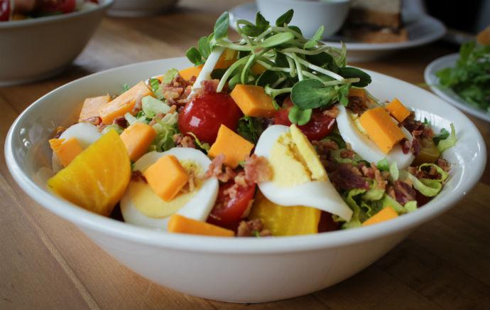 Railtown Cafe's Chop Salad