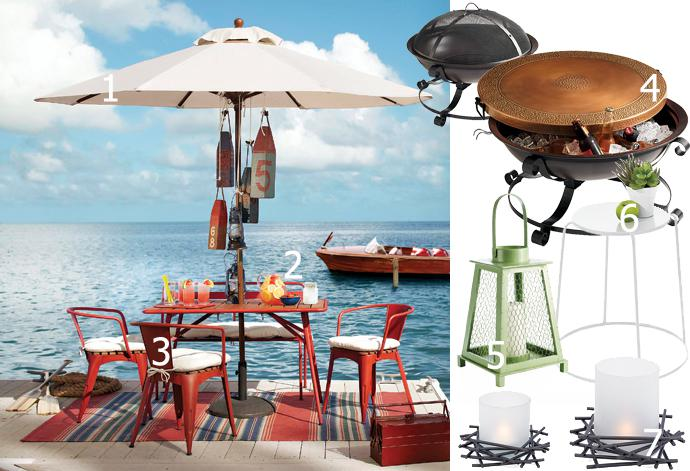 Hot Summer Style for Your Patio