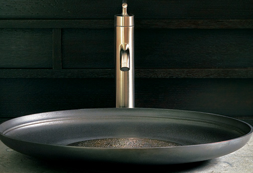 Add beauty to your bathroom with 19 new design trends - Shallow vessel sink ...